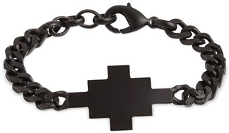 Marcelo Burlon County of Milan Cross Logo Chain Bracelet