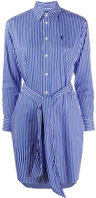 Polo Ralph Lauren striped poplin shirt dress