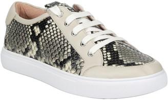Donald J Pliner Suzie Python Sneaker