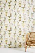 Anthropologie Living Vase Wallpaper