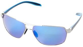 Maui Jim The Bird (Dark Gunmetal/Black/Grey Temples) Fashion Sunglasses
