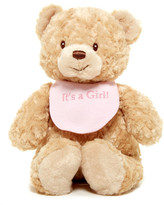 Gund Bib Bear It&s A Girl