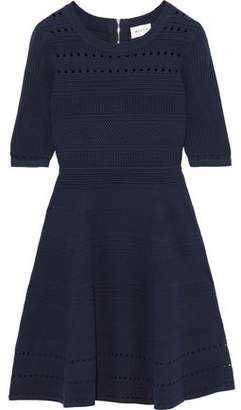 Milly Flared Knitted Mini Dress