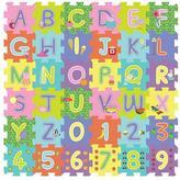 Peppa Pig 36 Pieces ABC /123 Foam Cube Puzzle