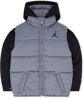 Jordan Classic Layered-Look Puffer Jacket, Little Boys (2-7)