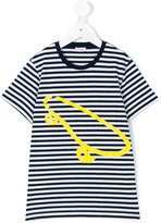 Il Gufo striped skate T-shirt - kids - Cotton/Elastodiene - 2 yrs