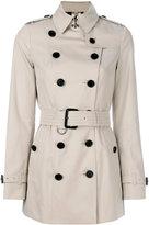Burberry Sandingham trench coat - women - Cotton - 6