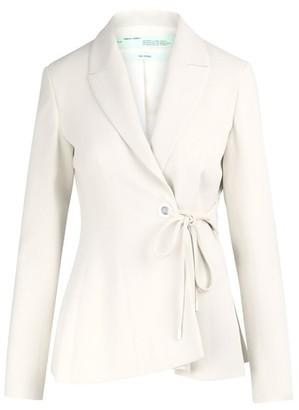 Off-White Woman wrap jacket
