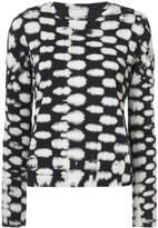 Raquel Allegra printed jersey top