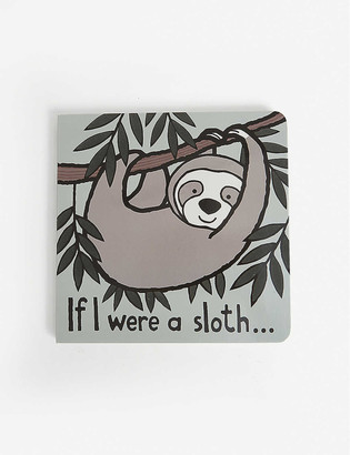 Jellycat If I Were A Sloth hard-back book