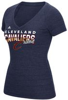 adidas Women's Cleveland Cavaliers Horizon Lines Tee