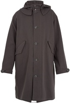 Lemaire Oversized hooded cotton-twill parka