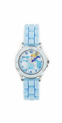 Disney Princess Unisex Child Analogue Classic Quartz Watch with Rubber Strap PN9005