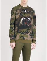 Givenchy Camo-print Cotton-jersey Sweatshirt