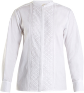 Vanessa Bruno Hevin lace-trimmed cotton top