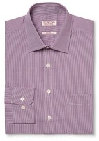 Merona Men's Ultimate Dress Shirt Purple Check