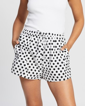 Endless - Women's White Shorts - Beach Bum Shorts - Size 6 at The Iconic