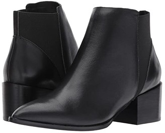 Chinese Laundry Finn Bootie (Black Leather) Women's Boots