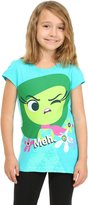 Disney girls Girls Inside Out Disgust Meh Shirt