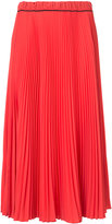 Marc Jacobs pleated midi skirt - women - Polyester - 0