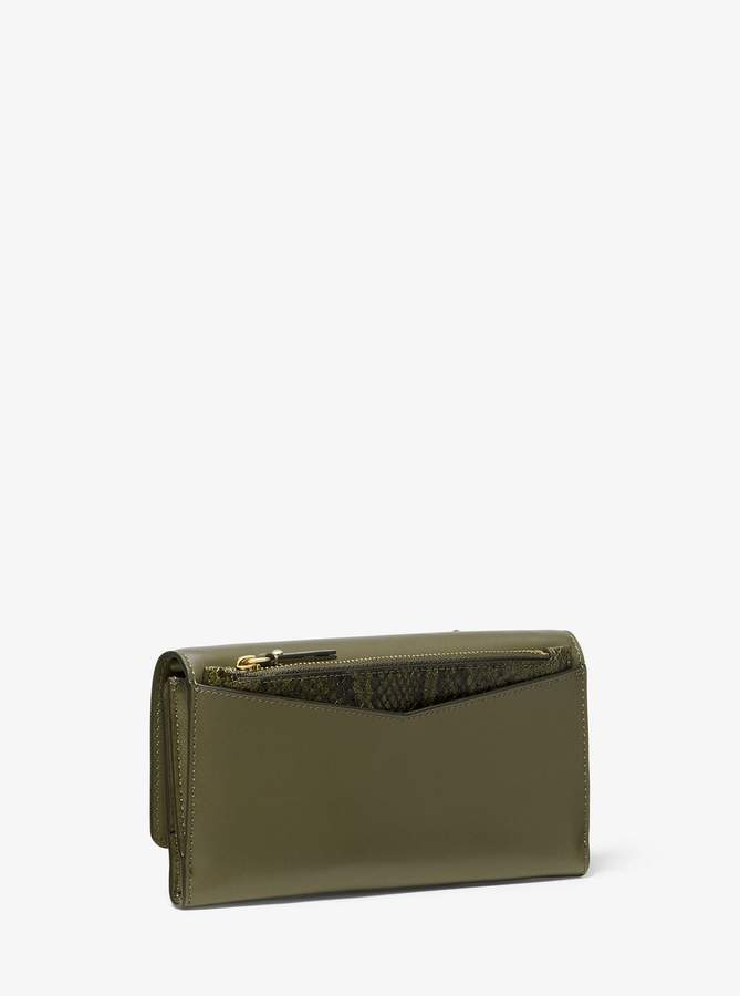 88f6a2ef40e8 MICHAEL Michael Kors Green Women's Wallets on Sale - ShopStyle