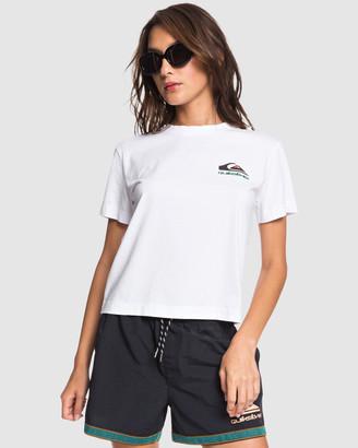 Quiksilver Womens Originals Cropped T-Shirt