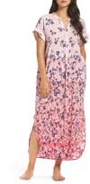 Oscar de la Renta Women's Sleepwear Floral Print Caftan