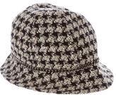 Chanel Embellished Tweed Bucket Hat