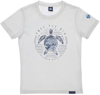 North Sails Turtle Print Cotton Blend T-shirt