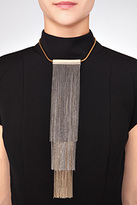 Vionnet Fringed Necklace in Bronze Gold
