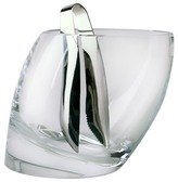 Nambe Tilt Ice Bucket with Tongs