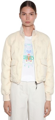 Kenzo Packable Embroidered Puffer Jacket