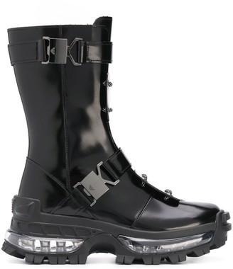 Emporio Armani Bubble Sole Winter Boots