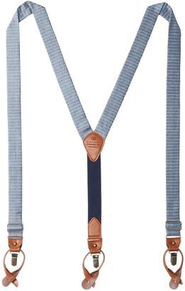 Tommy Hilfiger Men's 30mm Horizon Stripe Suspender