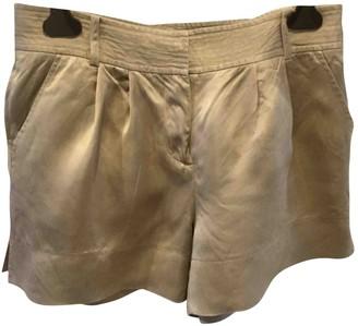 Diane von Furstenberg Ecru Polyester Shorts