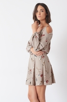 Dynamite Off-The-Shoulder Dress with Back Cutout