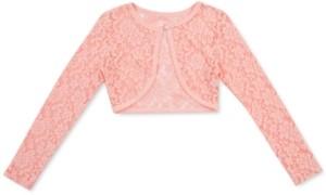 Speechless Little Girls Lace Cardigan Sweater
