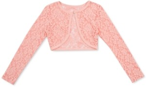 Speechless Toddler Girls Lace Cardigan Sweater