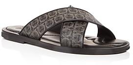 Salvatore Ferragamo Men's Sion Slide Sandals