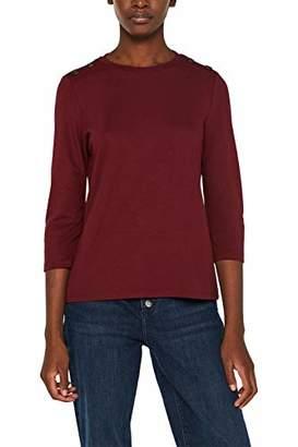 Esprit Women's 099ee1k067 Long Sleeve Top,X-Small