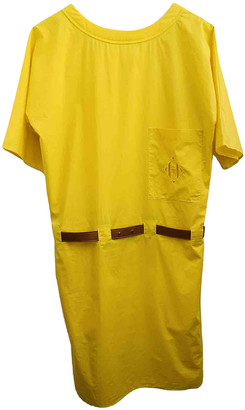 Hermes Yellow Cotton Dresses