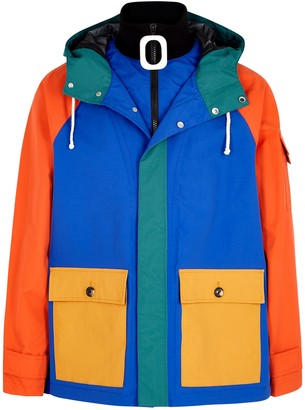 J.W.Anderson Colour-blocked Panelled Shell Jacket