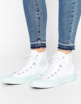 Converse Chuck Ii Hi Sneakers With Pastel Mid Sole