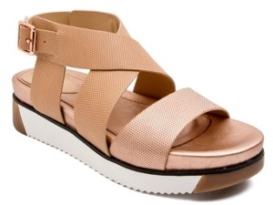 JANE AND THE SHOE Harper Treaded Footbed Sandals Women's Shoes
