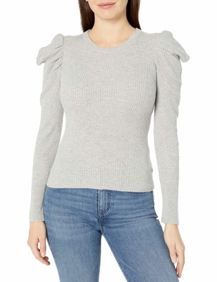 Splendid Women's Long Cashmere Blend Puff Sleeve Sweater