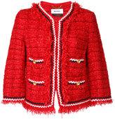 Muveil embroidered blazer - women - Cotton/Nylon - 38