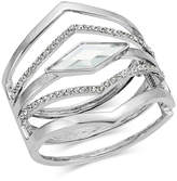 INC International Concepts I.n.c. Multi-Row Pointed Crystal Bangle Bracelet, Created for Macy's