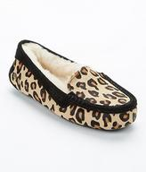 UGG Ansley Calf Hair Leopard Slippers