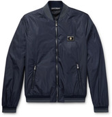 Dolce & Gabbana - Slim-fit Padded Nylon Bomber Jacket