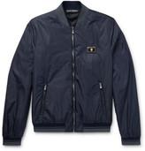Dolce & Gabbana Slim-Fit Padded Nylon Bomber Jacket